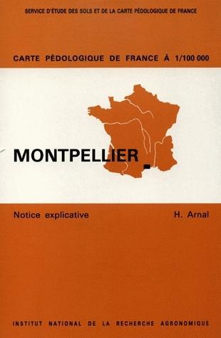 1:100000 Scale Soil Map of France - Henri Arnal - Inra