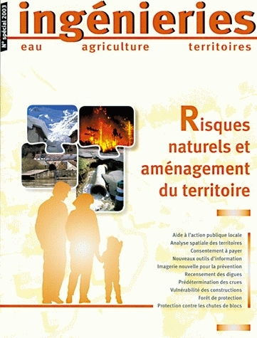 Natural risks and land-use management -  - Irstea