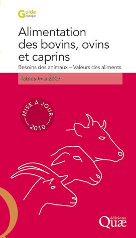 Alimentation des bovins, ovins et caprins -  - Éditions Quae