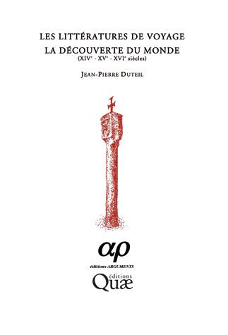 Les litteratures de voyage - Jean-Pierre Duteil - Éditions Quae