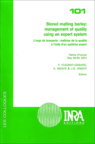 Stored Malting Barley: Management of Quality Using an Expert System -  - Inra