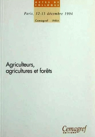 Farmers, agriculture and forests -  - Irstea