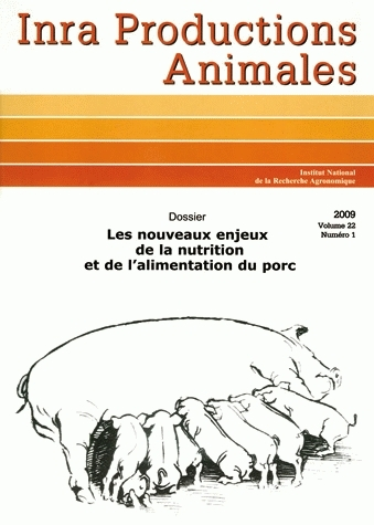 New Issues Surrounding Pig Nutrition and Feeds -  - Inra