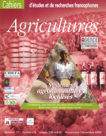 Localized Agrifood Systems -  - John Libbey Eurotext
