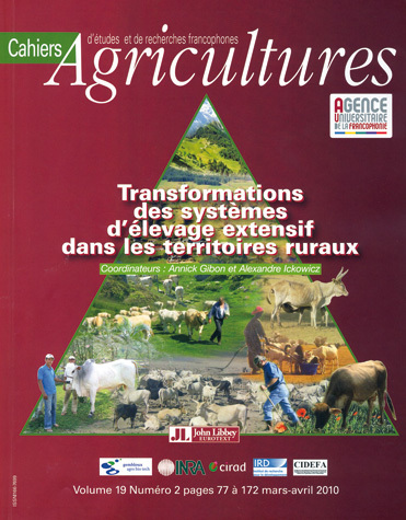 Changes in Extensive Livestock Farming Systems in Rural Territories -  - John Libbey Eurotext