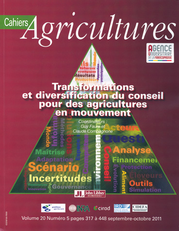 Transforming and Diversifying Advisory Services for a Changing Agricultural World -  - John Libbey Eurotext