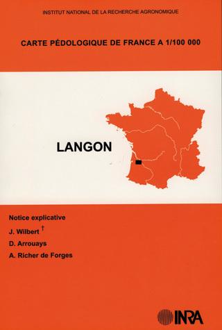1:100000 Scale Soil Map of France - Jacques Wilbert, Dominique Arrouays, Anne Richer de Forges - Inra