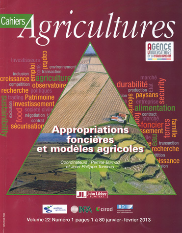 Land Ownership and Agricultural Models -  - John Libbey Eurotext