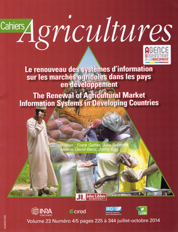 Renewal of Information Systems in Agricultural Markets in the Developing Countries -  - John Libbey Eurotext