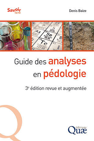 Guide to Soil Testing  - Denis Baize - Éditions Quae
